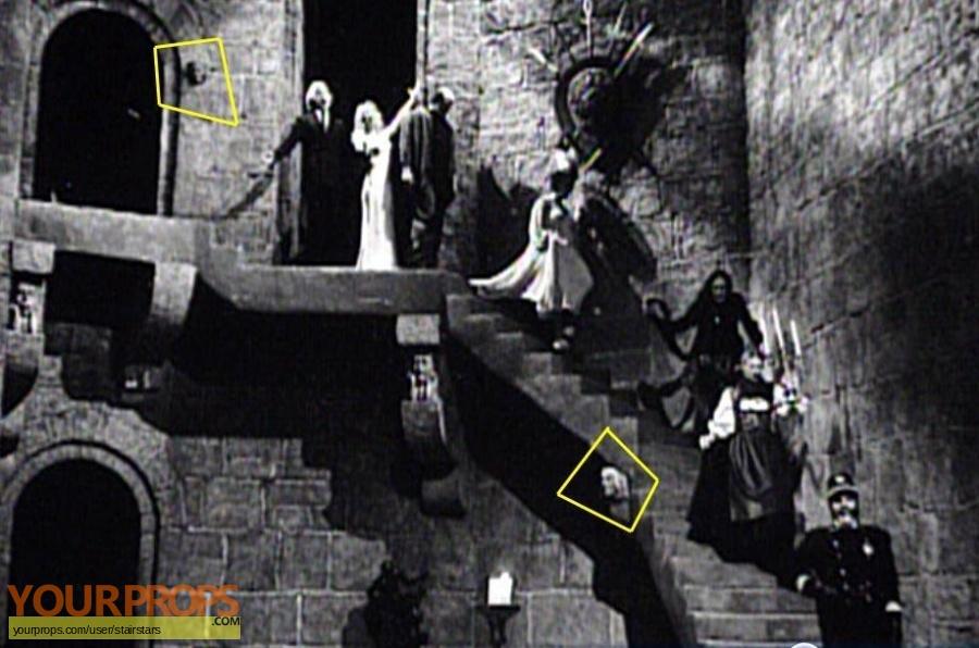 Young Frankenstein original set dressing   pieces