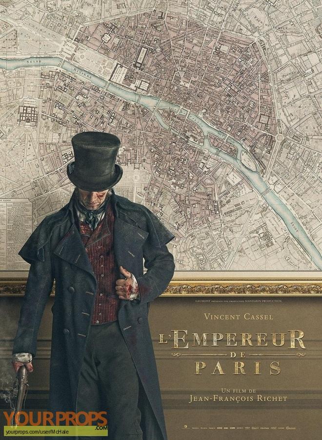 LEmpereur de Paris original movie prop