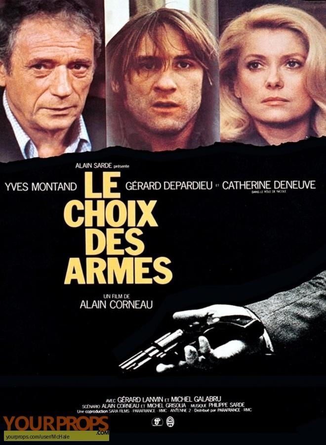 Le Choix des Armes original movie prop