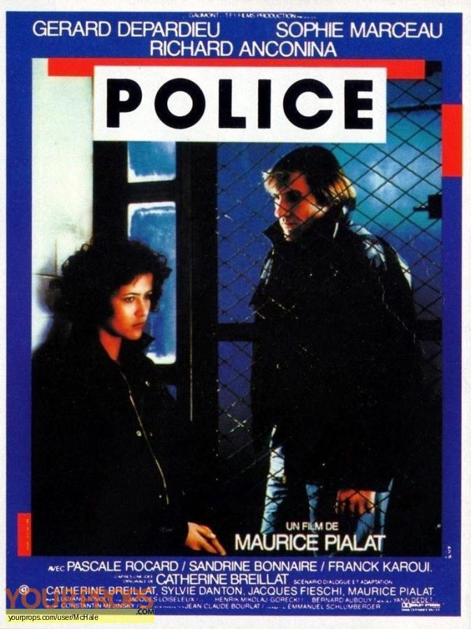 Police original movie prop