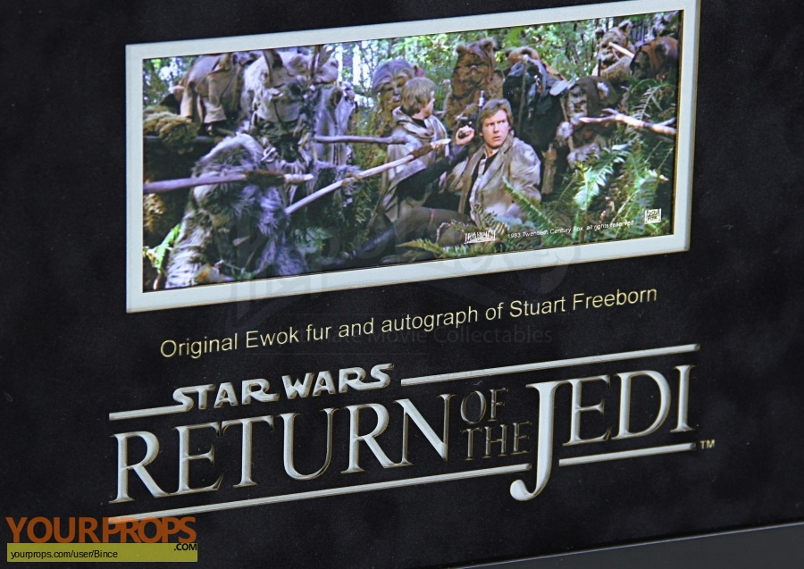 Star Wars  Return Of The Jedi swatch   fragment production material