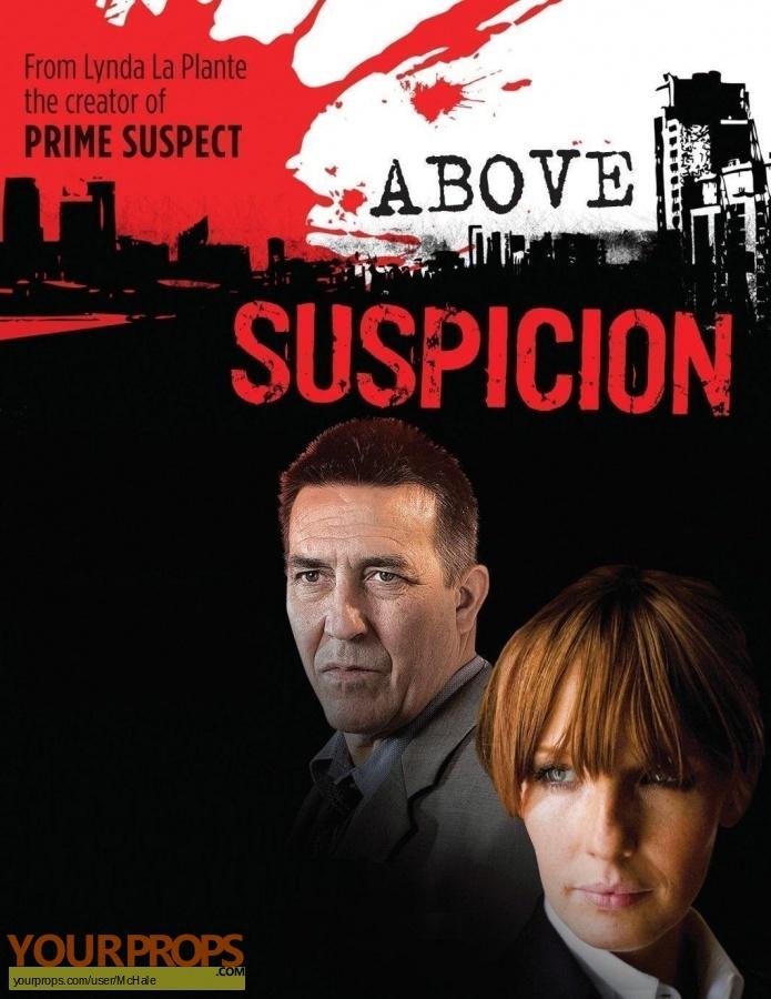 Above Suspicion replica movie prop