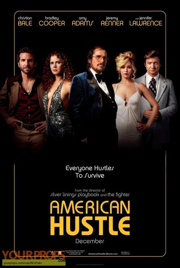 American Hustle replica movie prop