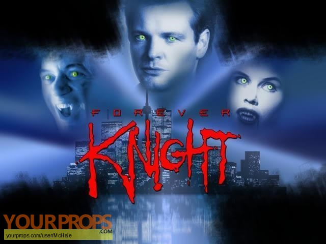 Forever Knight replica movie prop