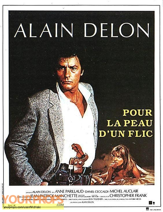 Pour la Peau dun Flic replica movie prop