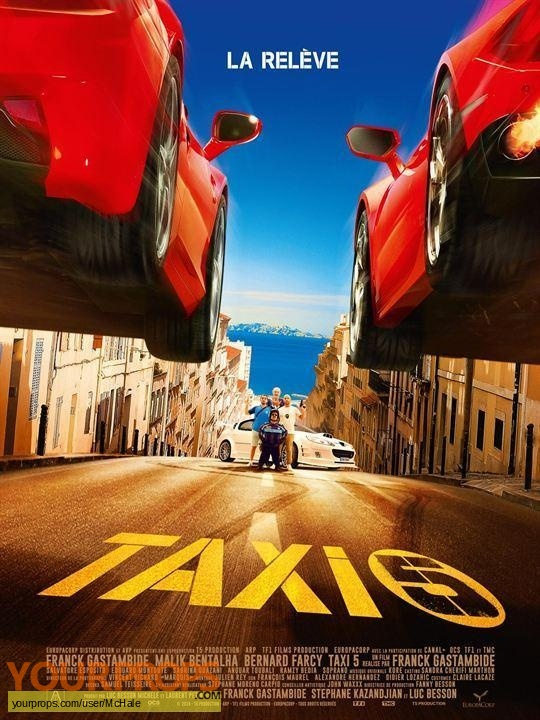 Taxi 5 original movie prop