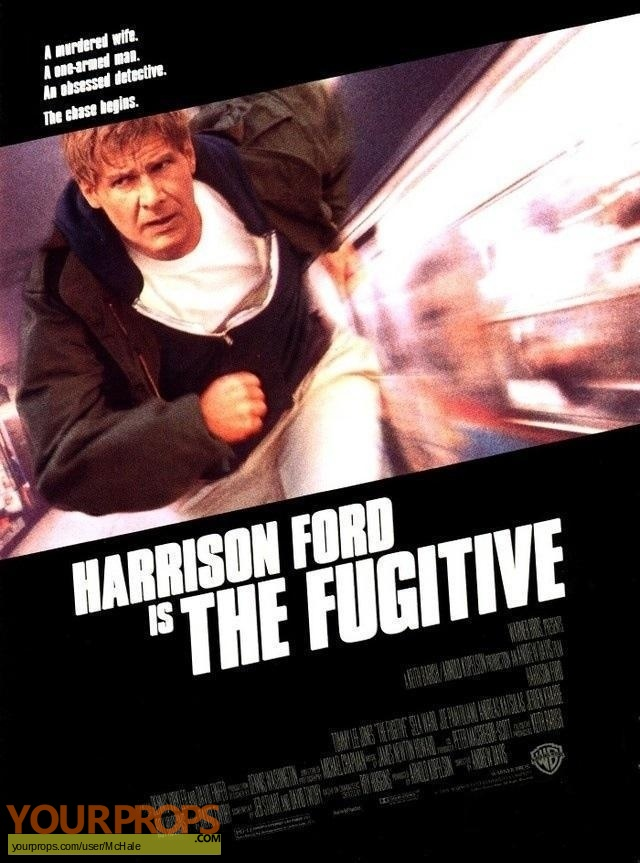 The Fugitive original movie prop