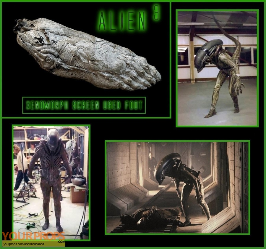 Alien 3 original movie costume