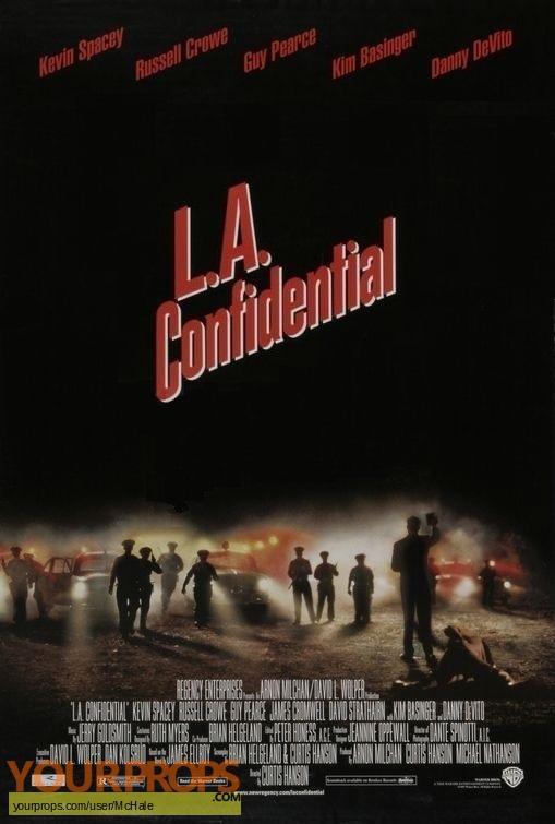 L A  Confidential replica movie prop