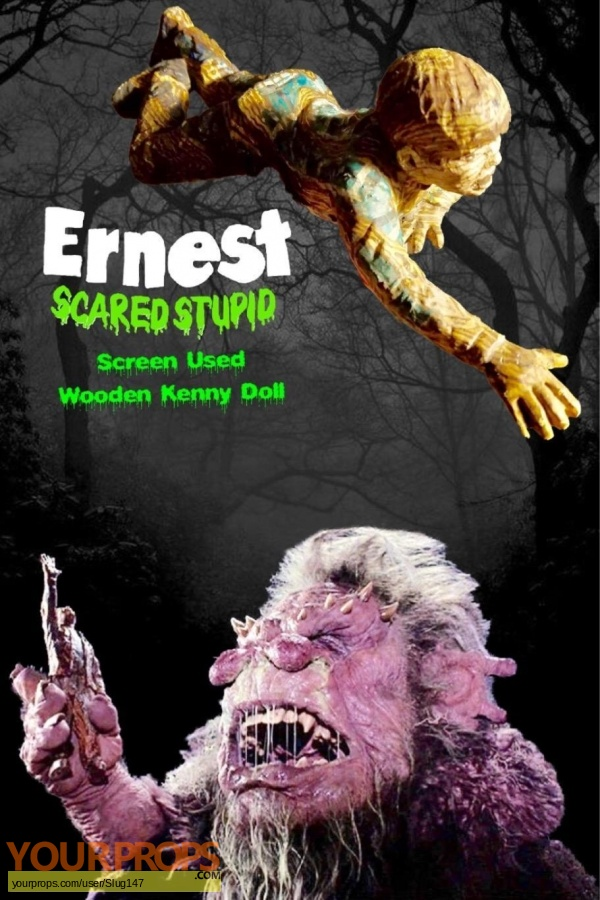 Ernest Scared Stupid original movie prop