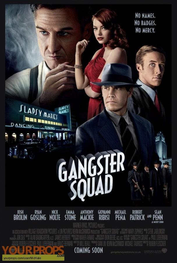 Gangster Squad replica movie prop