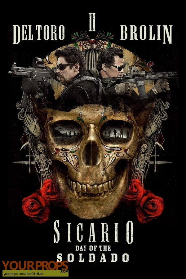Sicario   Day of the Soldado replica movie prop