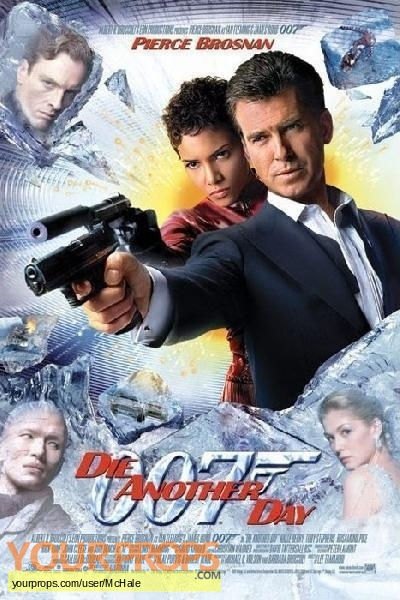 James Bond  Die Another Day replica movie prop