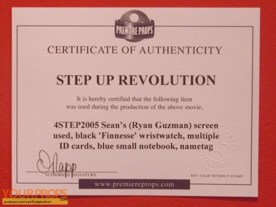 Step Up Revolution original movie prop