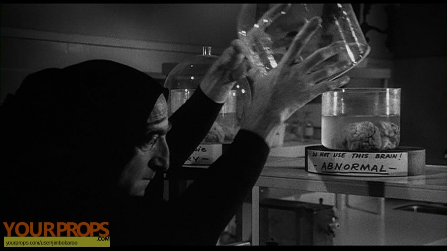 Young Frankenstein made from scratch movie prop