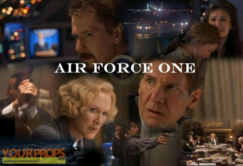 Air Force One original movie prop