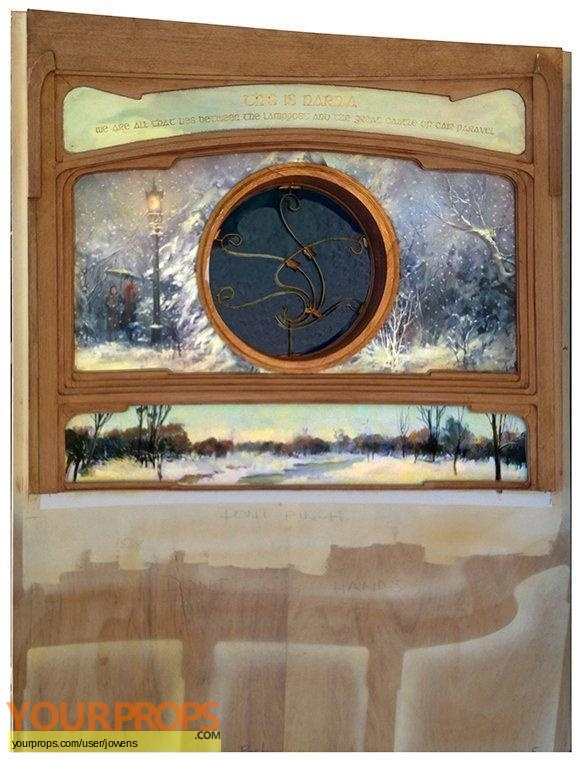 The Chronicles of Narnia  The Voyage of the Dawn Treader original set dressing   pieces