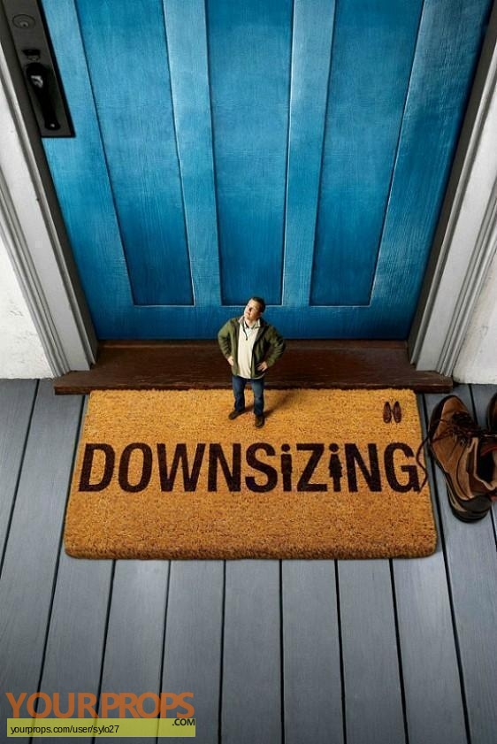 Downsizing original movie prop