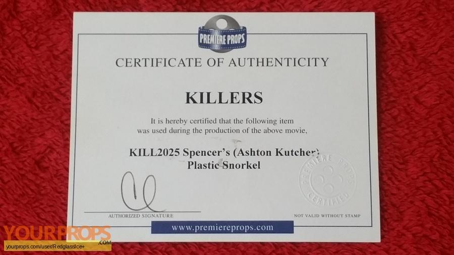 Killers original movie prop
