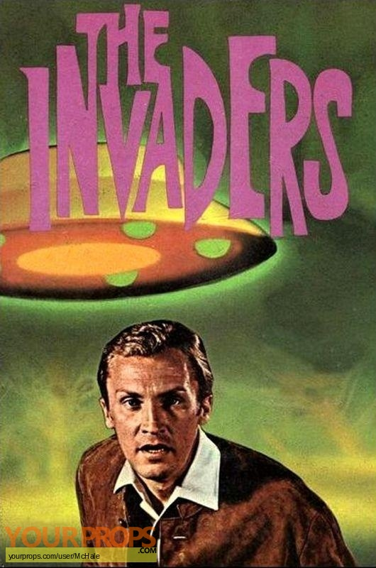 The Invaders replica movie prop