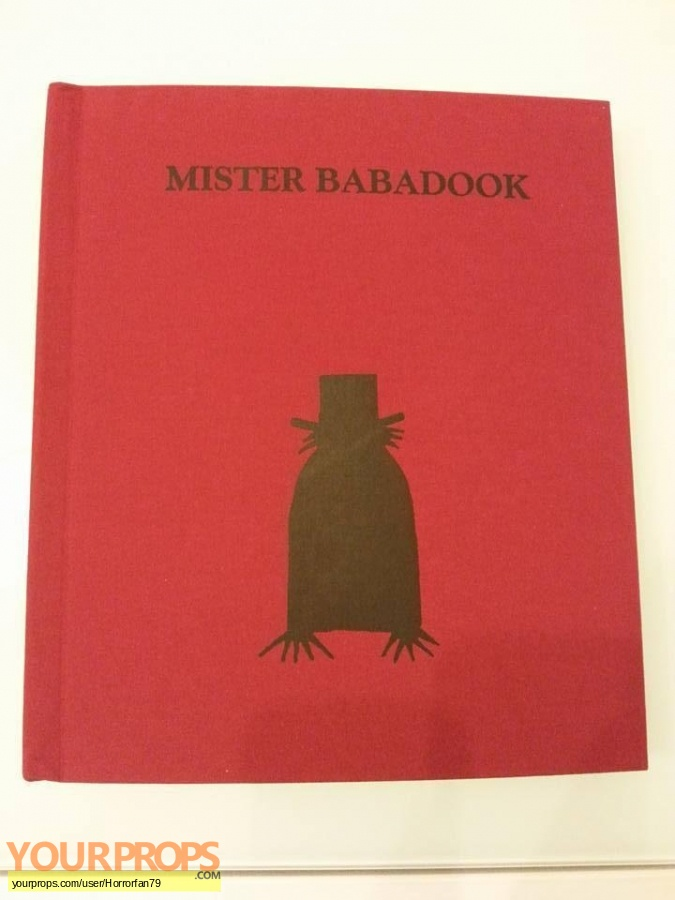 Babadook replica movie prop