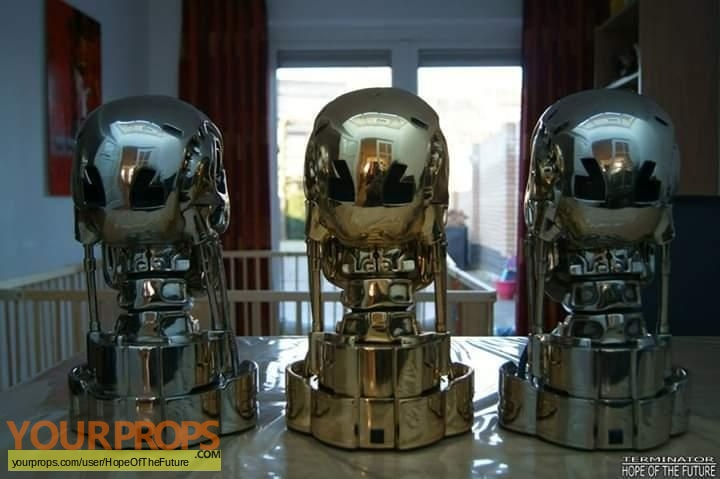 Terminator 2  Judgment Day replica movie prop