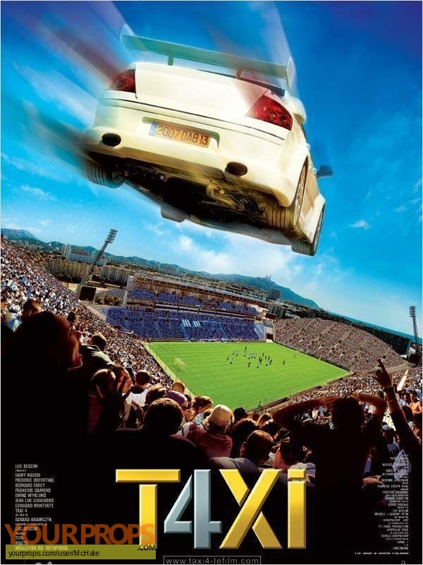 Taxi 4 original movie prop