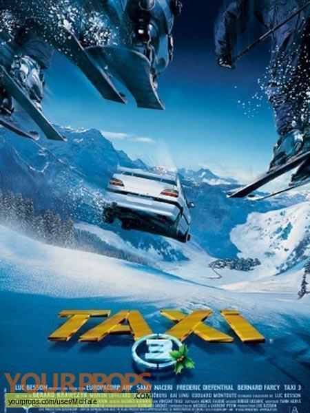 Taxi 3 original movie prop