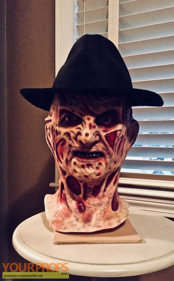 A Nightmare On Elm Street made from scratch movie prop