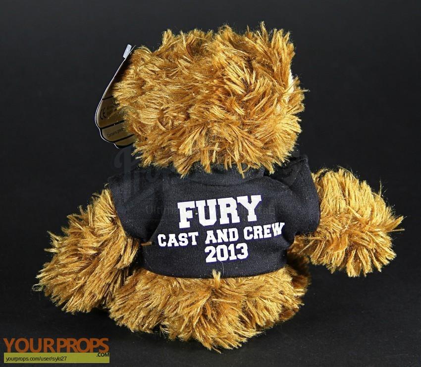 Fury original film-crew items