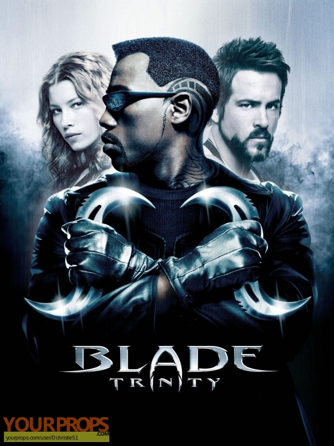 Blade  Trinity original movie prop weapon