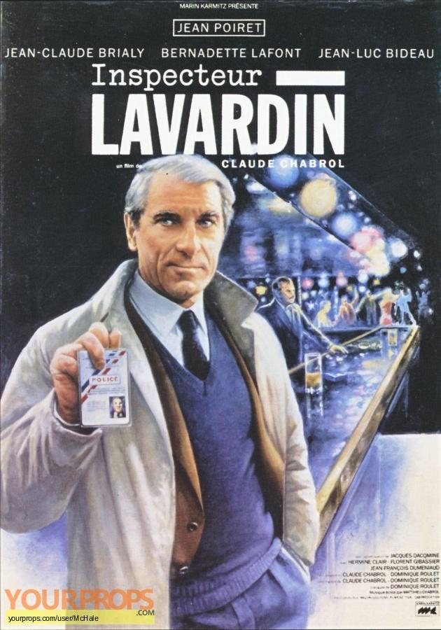 Les Dossiers de LInspecteur Lavardin replica movie prop