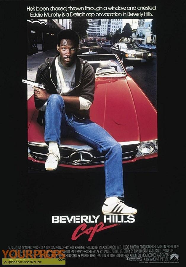 Beverly Hills Cop replica movie prop