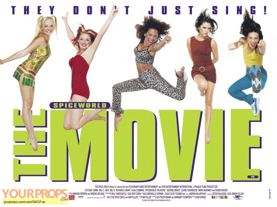 Spice World original production material