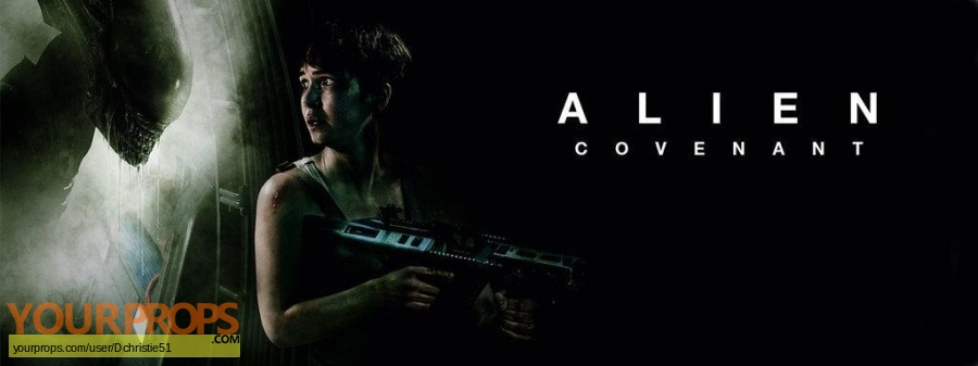 Alien Covenant 2017 original movie prop