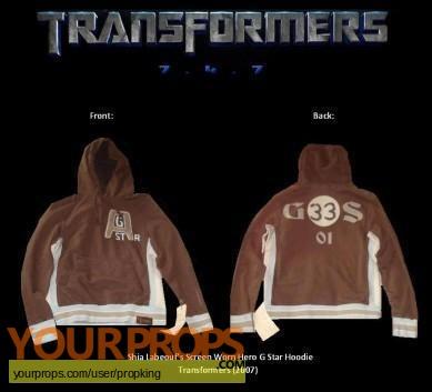 Transformers original movie costume