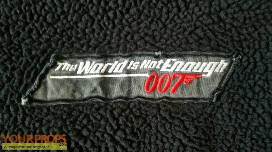 James Bond  The World Is Not Enough original movie costume