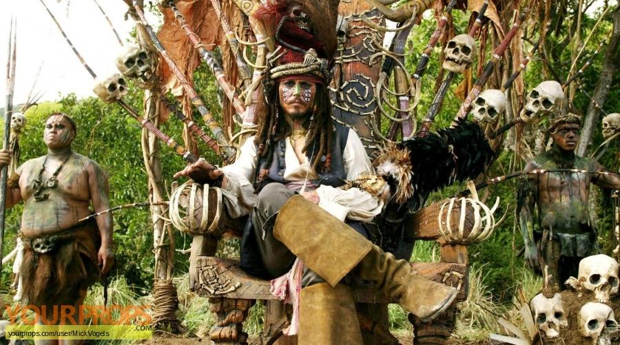 Pirates of the Caribbean  Dead Mans Chest original set dressing   pieces