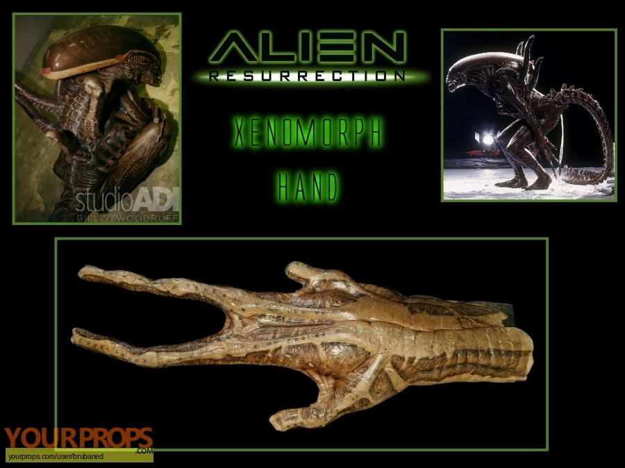 Alien  Resurrection original movie costume