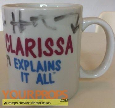 Clarissa Explains It All original film-crew items
