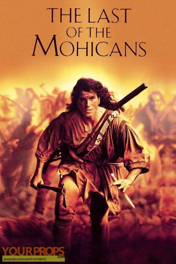 The Last of the Mohicans original movie prop weapon