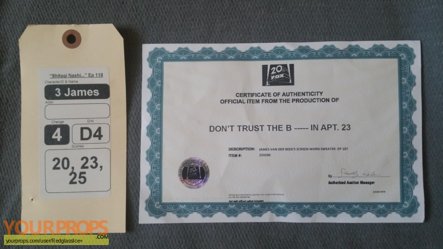 Dont Trust the B---- in Appartment 23 original movie costume