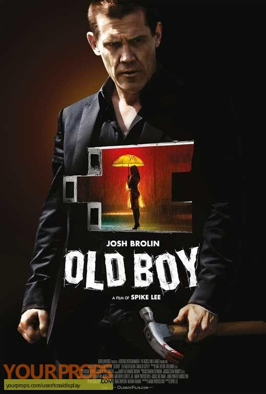 Oldboy original movie costume