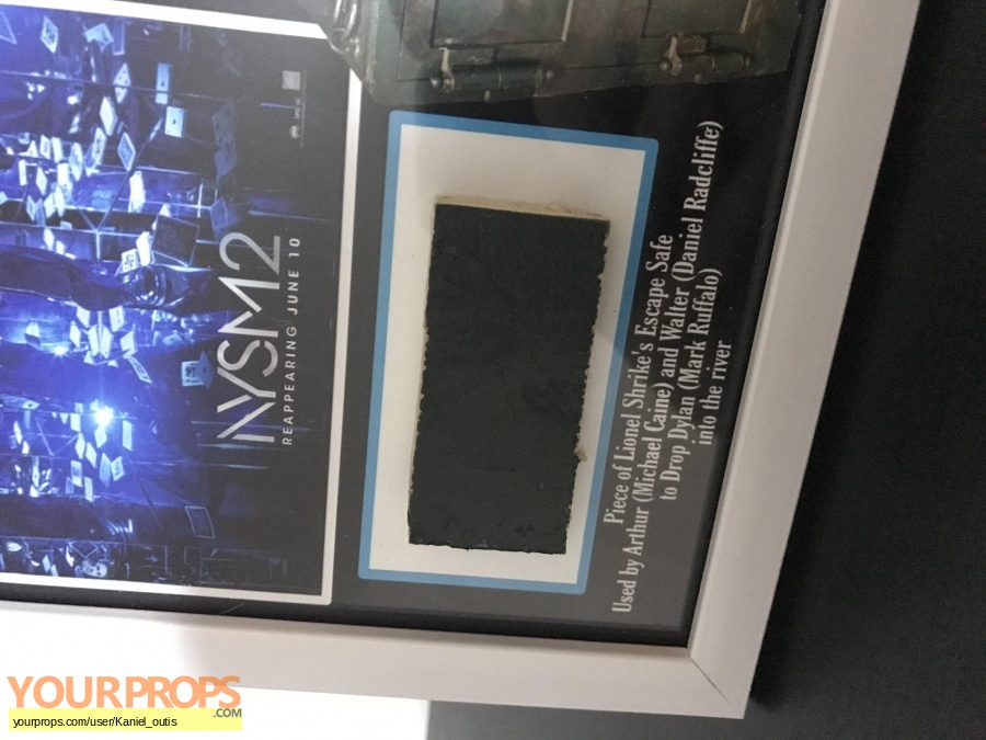 Now You See Me 2 swatch   fragment movie prop
