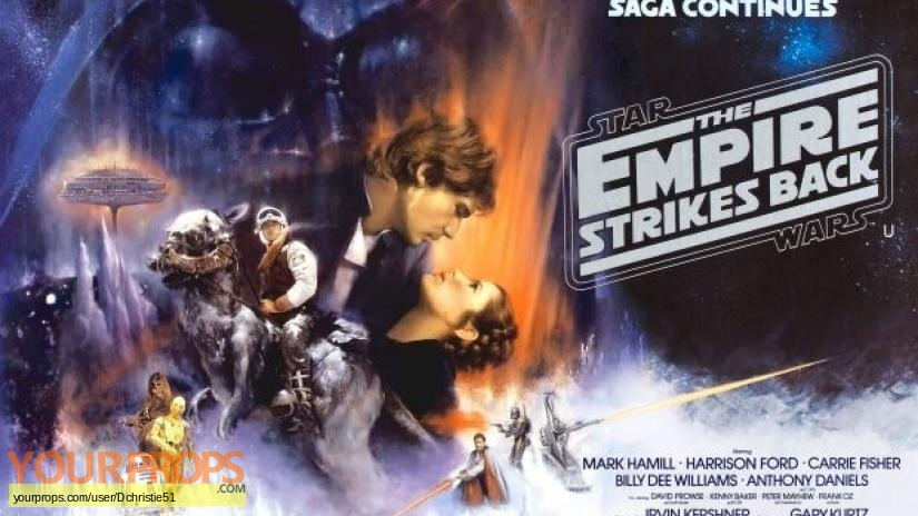 Star Wars  The Empire Strikes Back original production artwork