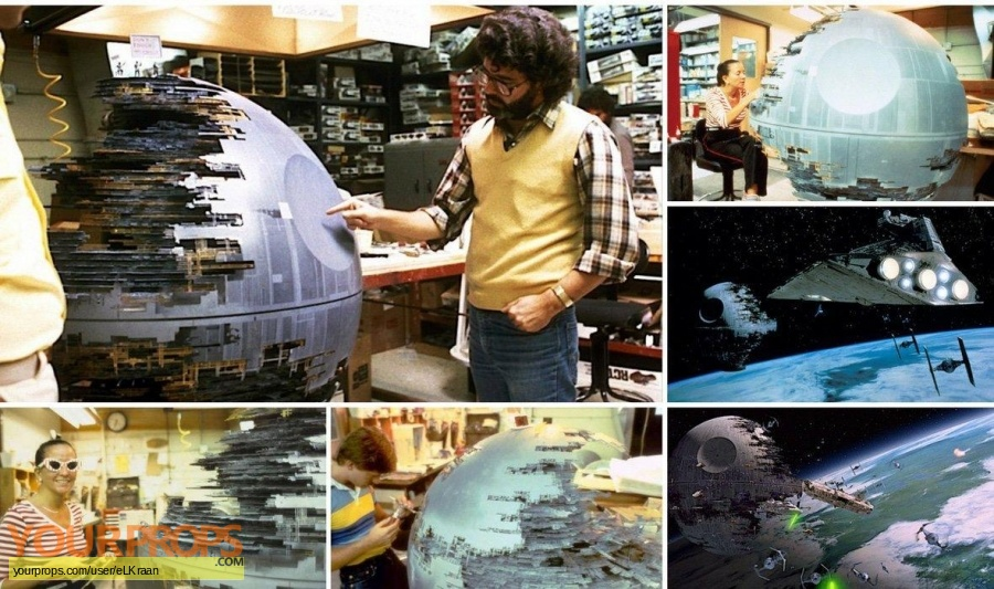 Star Wars  Return Of The Jedi original model   miniature