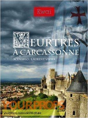 Meurtres a Carcassonne original movie prop