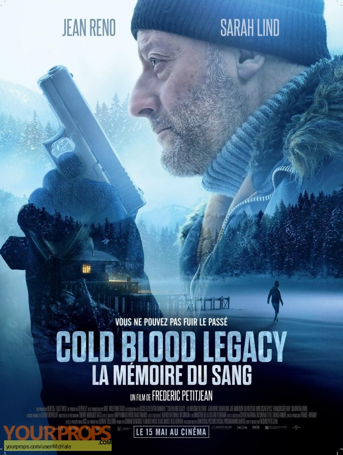 Cold Blood Legacy original movie prop weapon