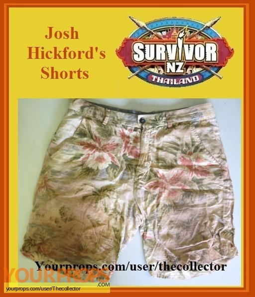 Survivor New Zealand  Thailand original movie prop