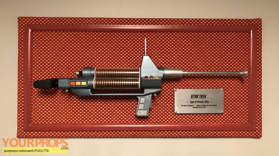 Star Trek  The Original Series replica movie prop weapon